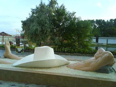 Памятник отдыхающим - Анапа