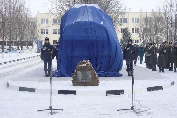 Памятник пожарным - Белгород