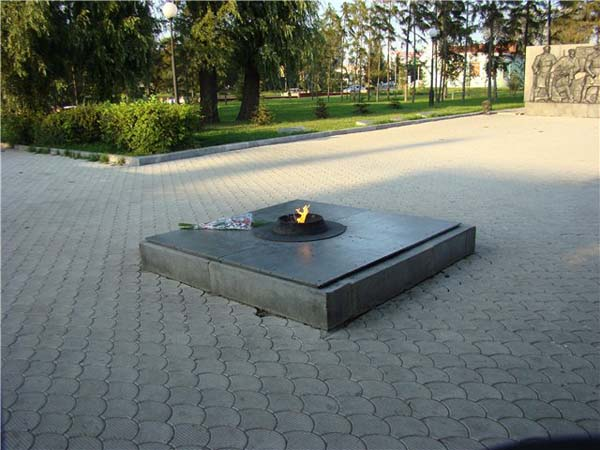 Мемориальный сквер - Омск