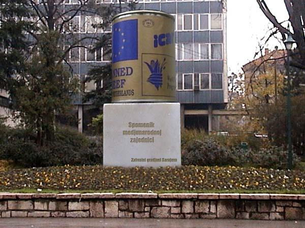 Памятник тушенке - Босния