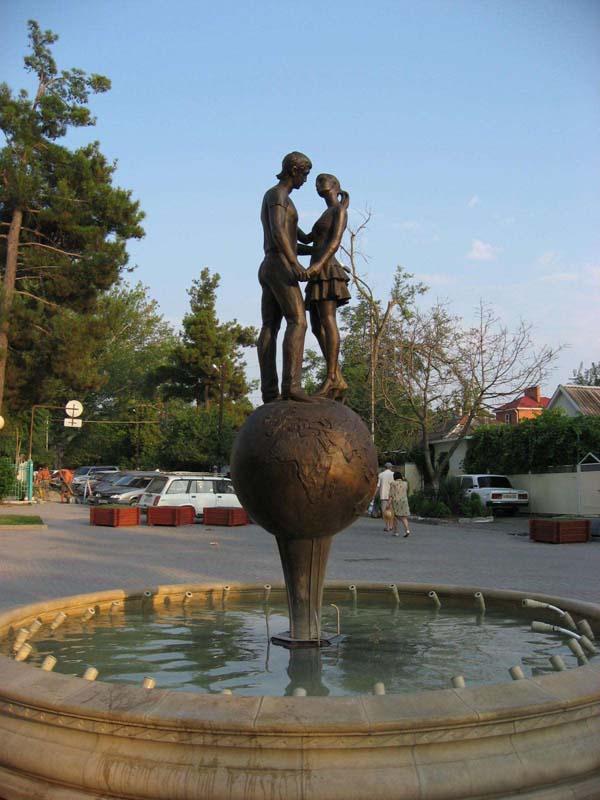 Памятник влюбленным - Геленджик