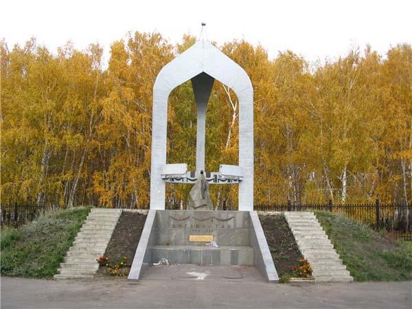 Памятник афганской войне - Омск