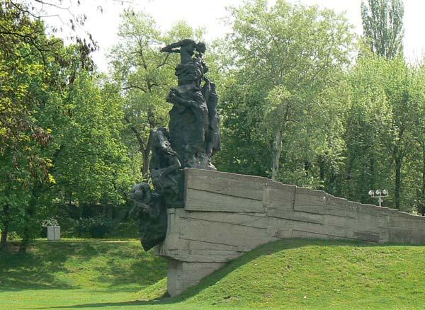 Памятник погибшим в Бабьем Яру - Киев