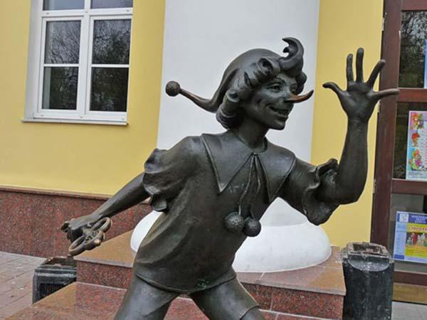 Памятник Буратино - Гомель
