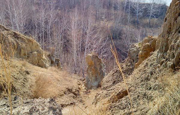 Чертов палец - Омская область