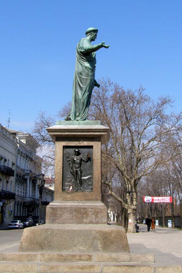 Памятник Дюку де Ришелье - Одесса