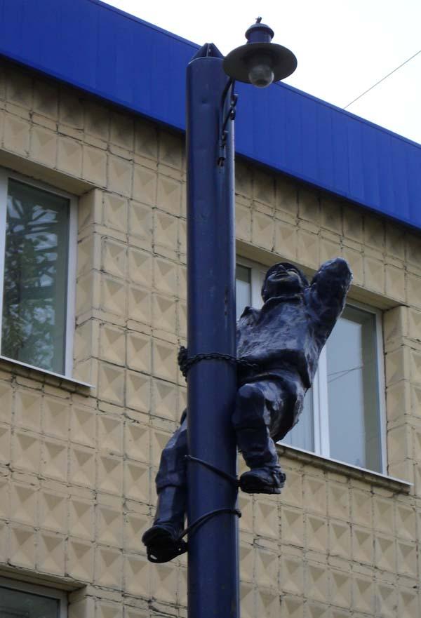 Памятник электрику - Томск