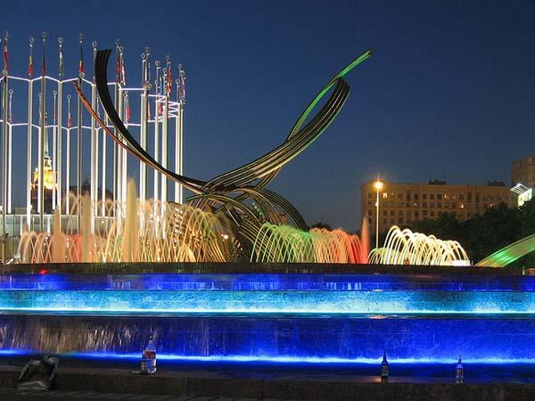 Памятник похищение Европы - Москва
