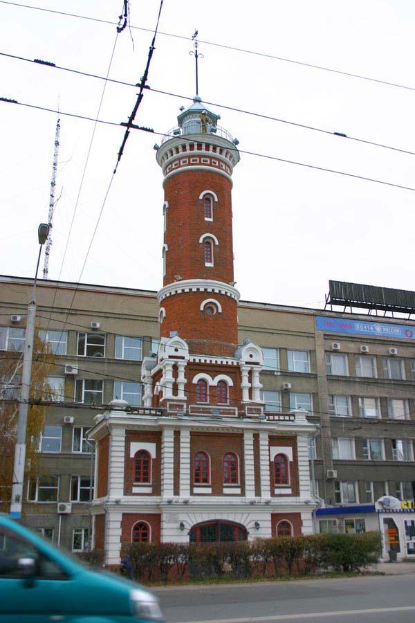 Пожарная каланча - Омск