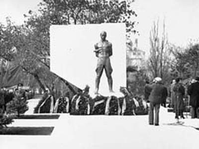 Памятник К.Лигети - Омск