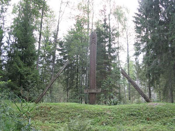 Памятник мечу - Елгава