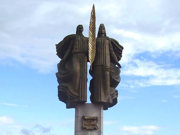 """Памятник """"Навеки с Россией"""" - Саранск"""