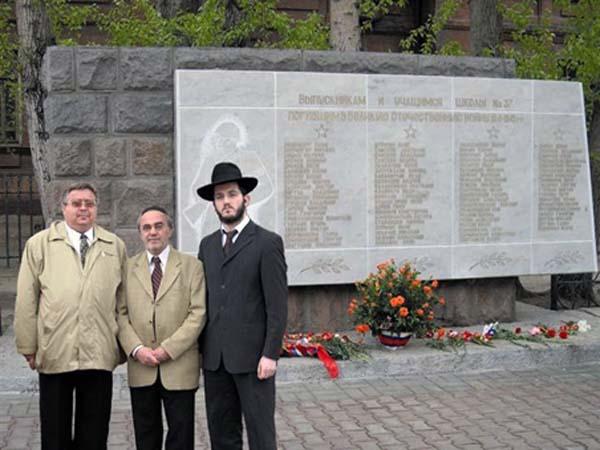 Памятник павшим ученикам
