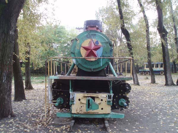 Памятник паровозу - Екатеринбург