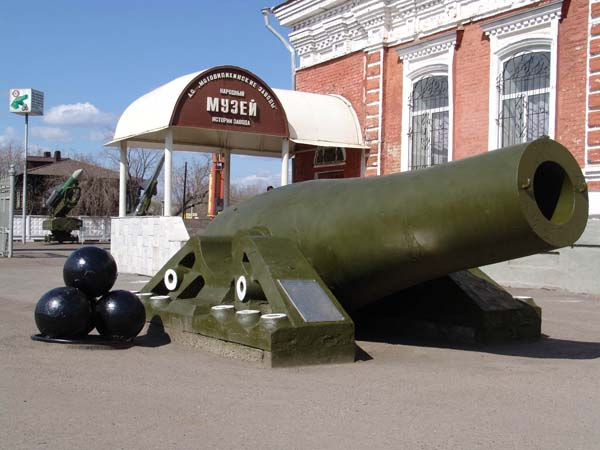 Царь-пушка в Перми