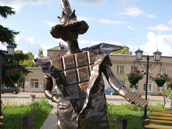 Памятник шоколаду