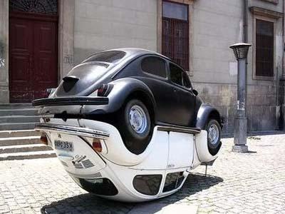 Памятник Volkswagen
