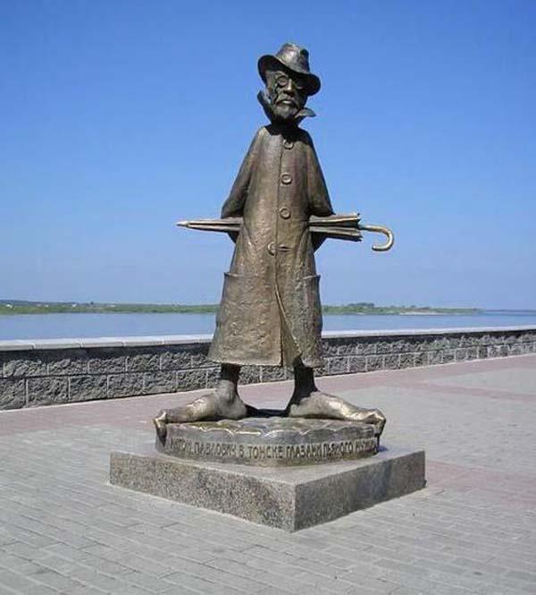Памятник Чехову - Томск