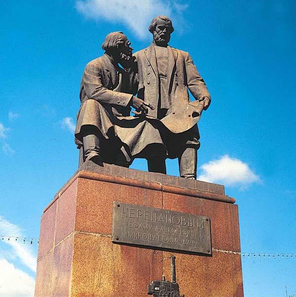 Памятник Черепановым - Нижний Тагил