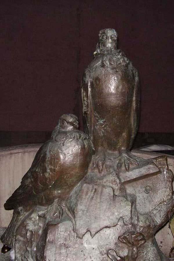 Памятник голубям - Москва