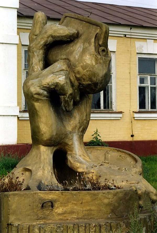 Памятник кошельку - Казань