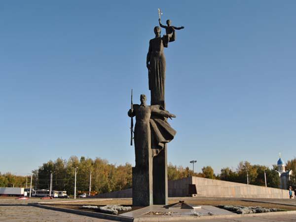 Монумент воинской и трудовой славы в Пензе