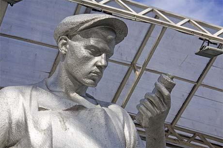 Памятник рабочему - Москва