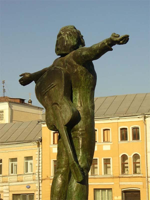 Памятник Высоцкому - Москва