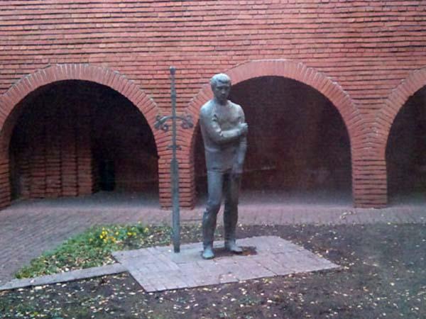 Памятник Высоцкому - Таганка (Москва)