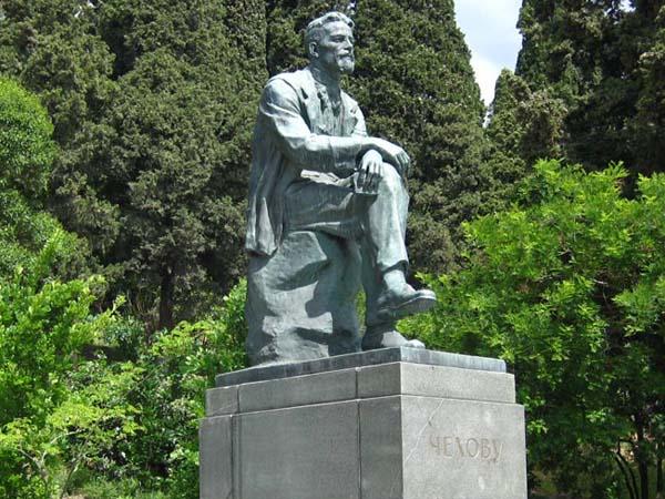 Памятник А.П. Чехову - Ялта