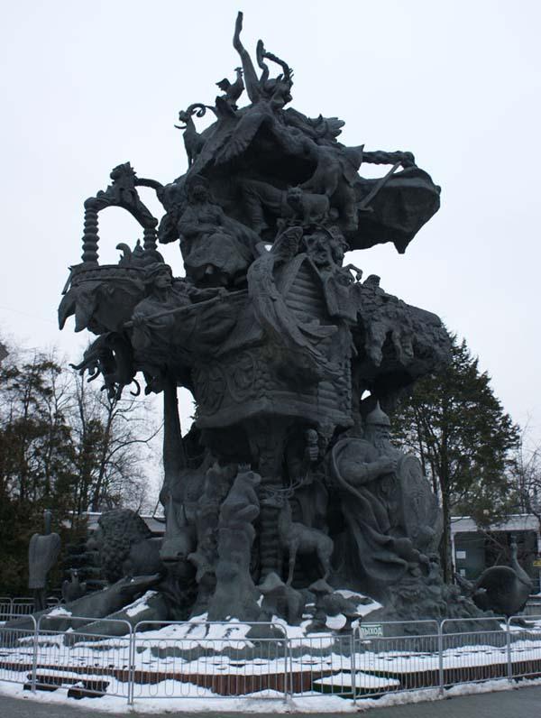 Памятник древо жизни в Москве