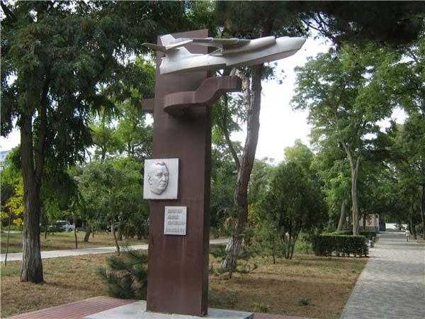 Памятник А.С. Корытину - Анапа