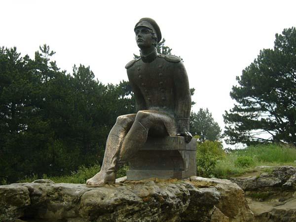 Памятник Лермонтову в Кисловодске