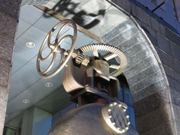 Памятник водопроводу в Москве
