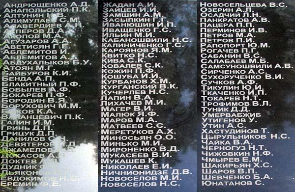 Памятник воинам-десантникам в Анапе