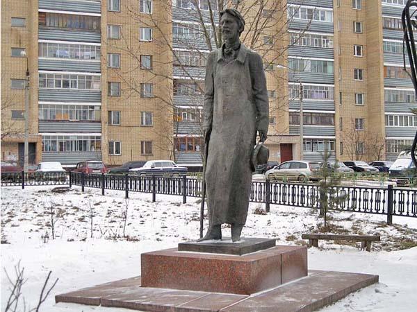 Памятник Чехову в Чехове