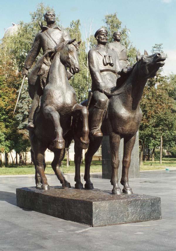 Памятник Фадееву в Москве