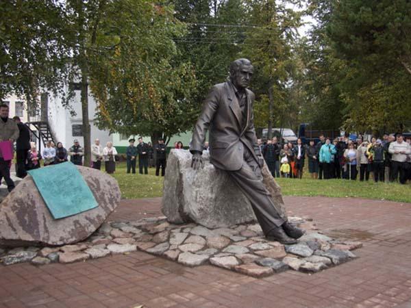 Памятник Гердту в Себеже