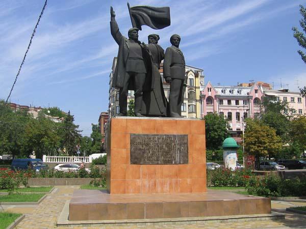 Памятник Великой Октябрьской революции в Ростове-на-Дону