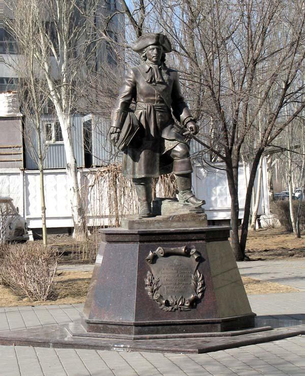 Памятник таможеннику в Ростове-на-Дону