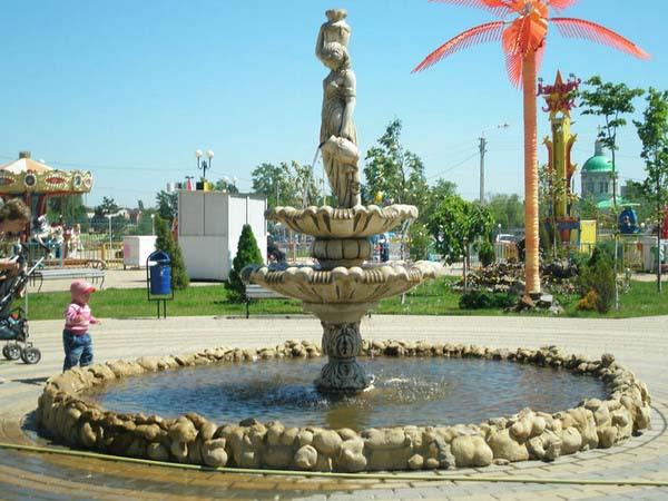 Фонтан Богиня плодородия в Ростове