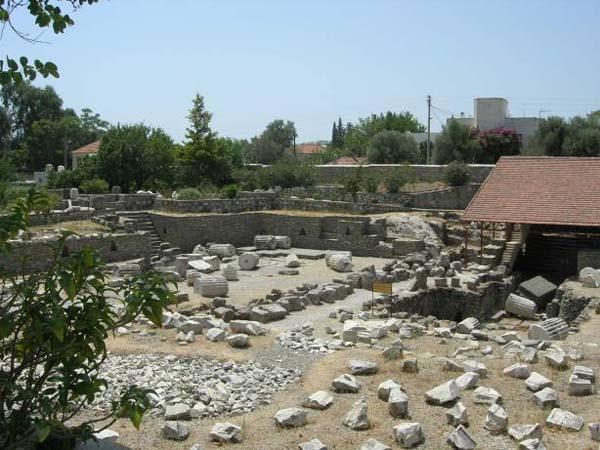 Галикарнасский мавзолей в Турции