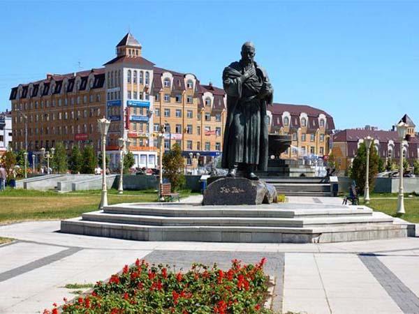 Памятник Кул Гали в Казани