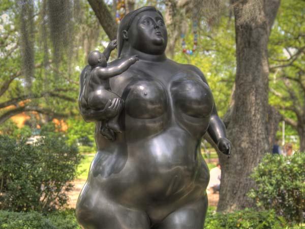 Скульптура Любимая женщина в Новом Орлеане