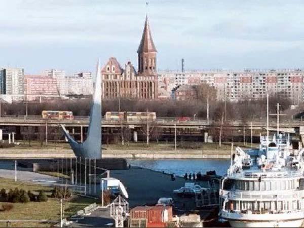 Памятник жертвам политических репрессий в Калининграде