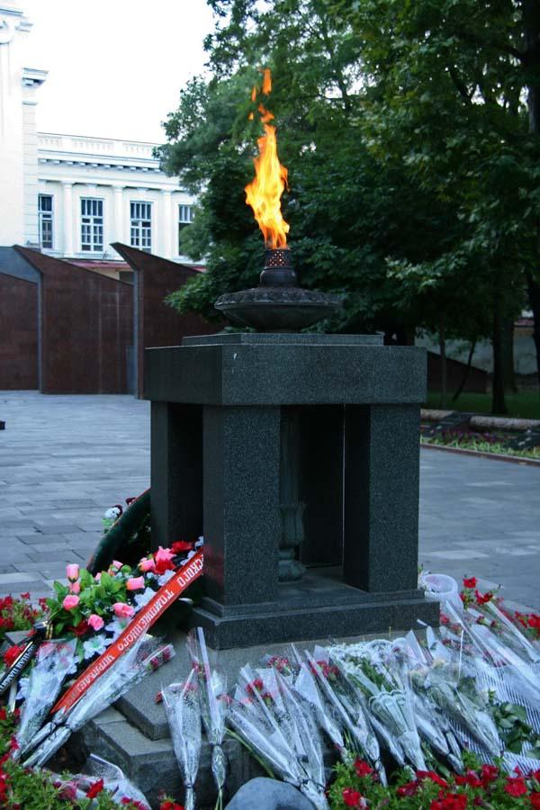 Вечный огонь в Новороссийске