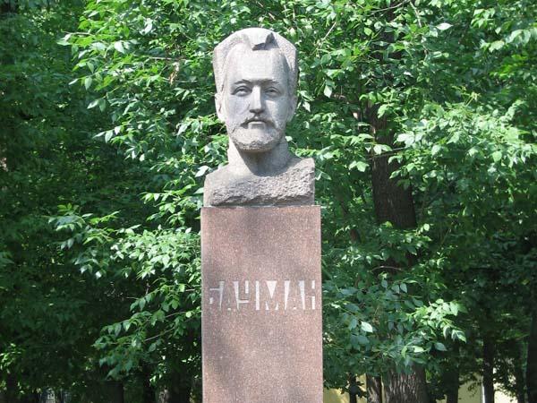 Памятник Бауману в Москве