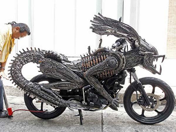 Неожиданные металлические скульптуры