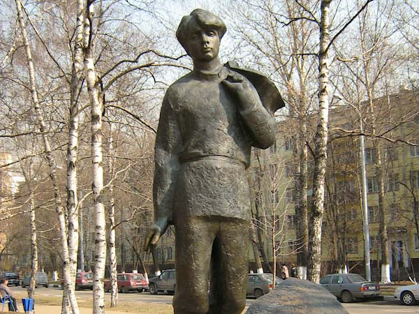 Памятник Есенину в Москве