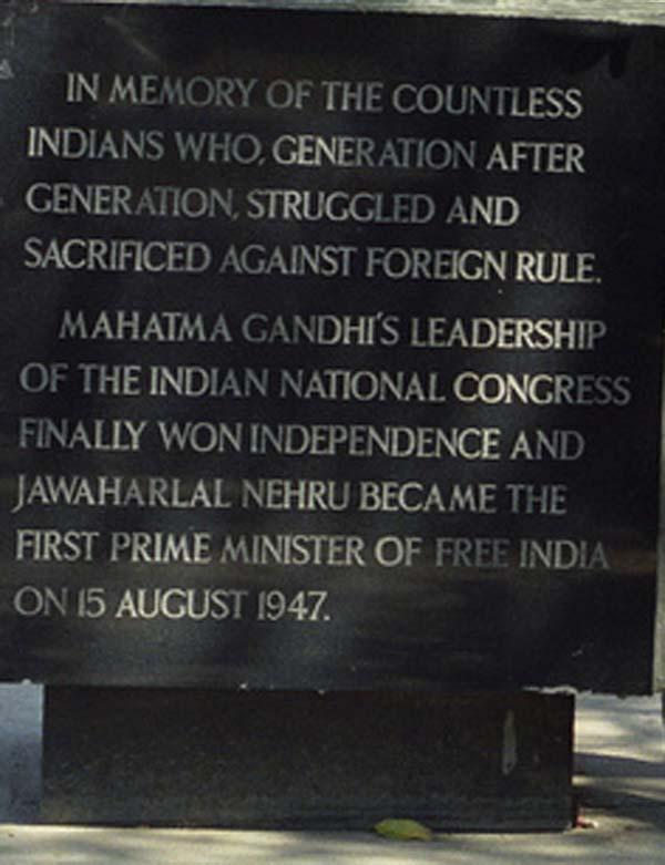 Памятник Соляной марш в Нью-Дели